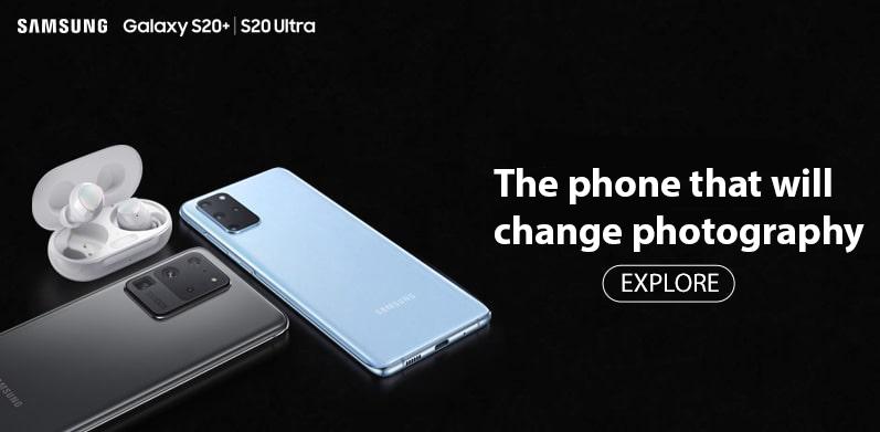 Samsung Galaxy S20 Banner