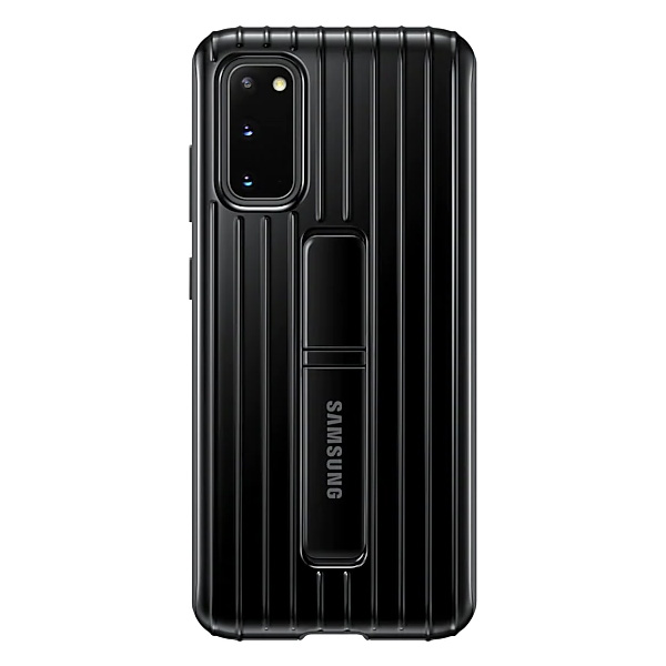 Samsung Galaxy S20 Protective Standing Cover - Black