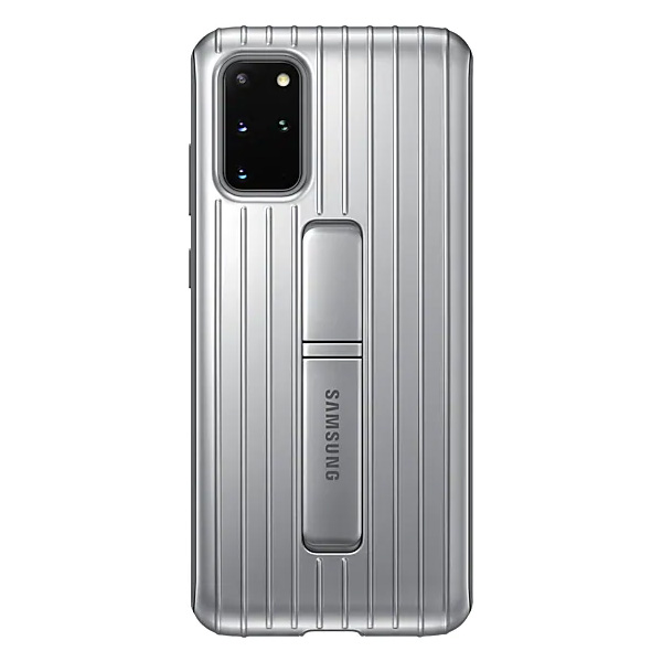 Samsung Galaxy S20+Protective Standing Cover - Silver
