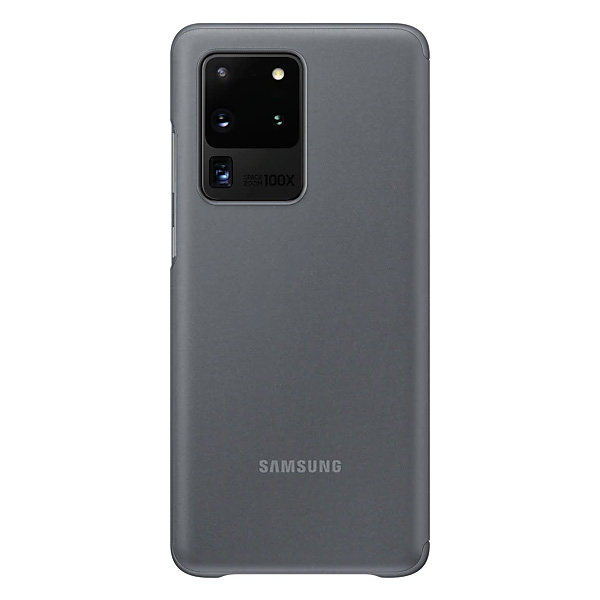 Samsung Galaxy S20 Ultra Clear View Cover - Gray