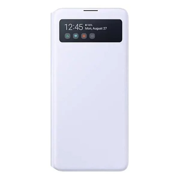 Samsung S View Wallet Case White For Note 10 Lite
